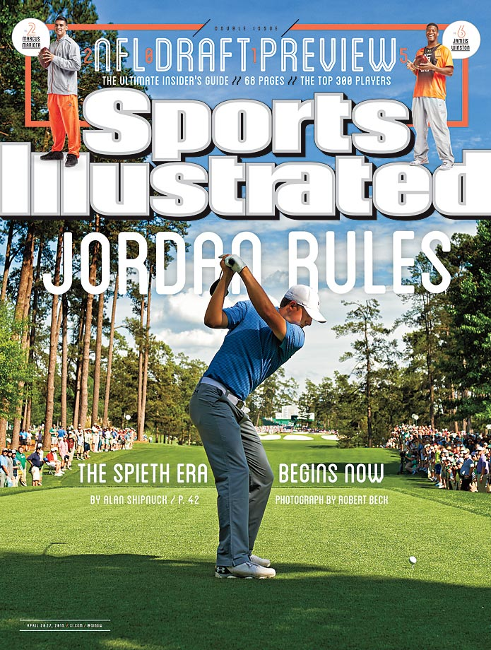April 20-27, 2015 | Jordan Spieth evoked memories of Tiger Woods' first Masters championship, after a sublime 18-under, four-shot victory at Augusta.