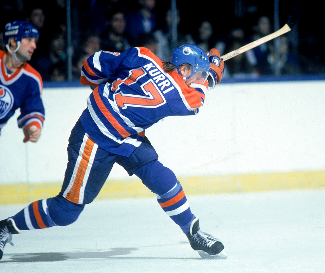 Maybe not as flashy as Ilya Kovalchuk, but 601 career goals — and a strong two-way game — give Kurri the edge.