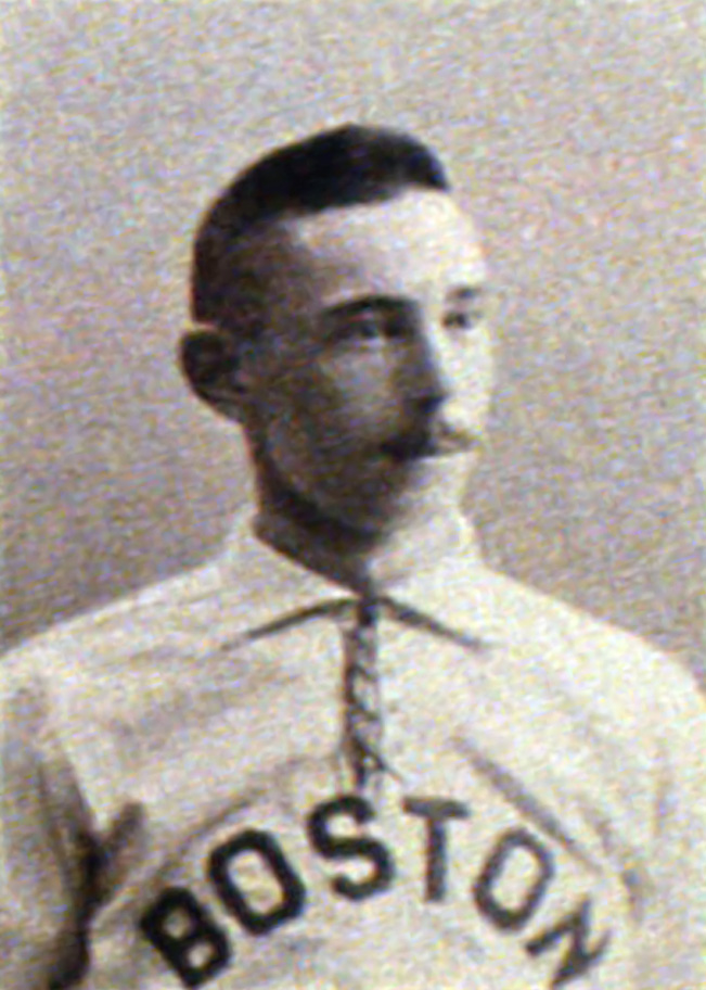 The Boston Beaneaters second baseman was the first player to hit four home runs in a major league game, every one of which proved necessary in Boston's 12-11 win over the Cincinnati Reds.