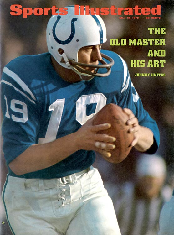 Tightroping the Super Bowl-era line here—Unitas's greatest years came before the Super Bowl's inception for the 1966 season, and he played just four seasons following the 1970 AFL-NFL merger. Unitas, a 1979 Hall inductee, was a transcendent talent nonetheless.