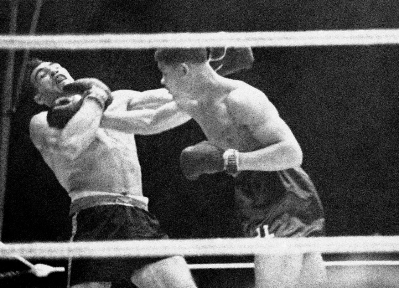 "His six-round destruction of the 6-6, 265-pound former heavyweight champion Primo Carnera, known as ""The Ambling Alp,"" stamped Louis as a title contender and a major new star. In his defeat of the Carnera, who was viewed as Benito Mussolini's emissary, Louis represented blacks who identified with 'little' Ethiopia in its struggle against the bullying Italian aggressor."