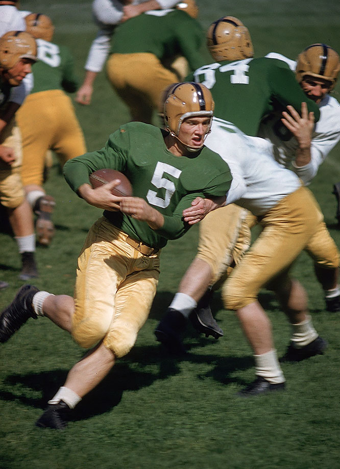 May 10, 1956 — Notre Dame spring practice
