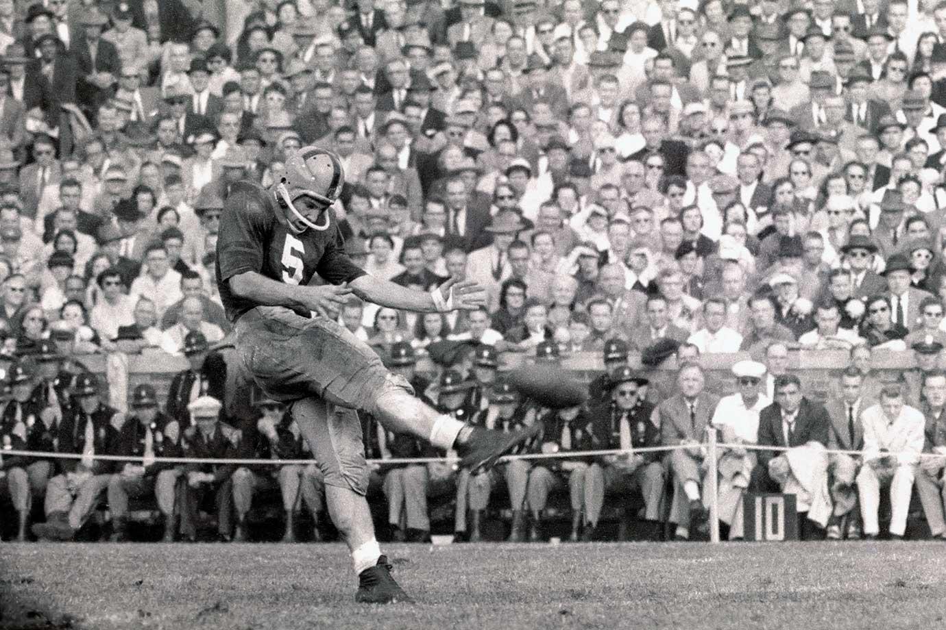 Oct. 20, 1956 — Notre Dame vs. Michigan State