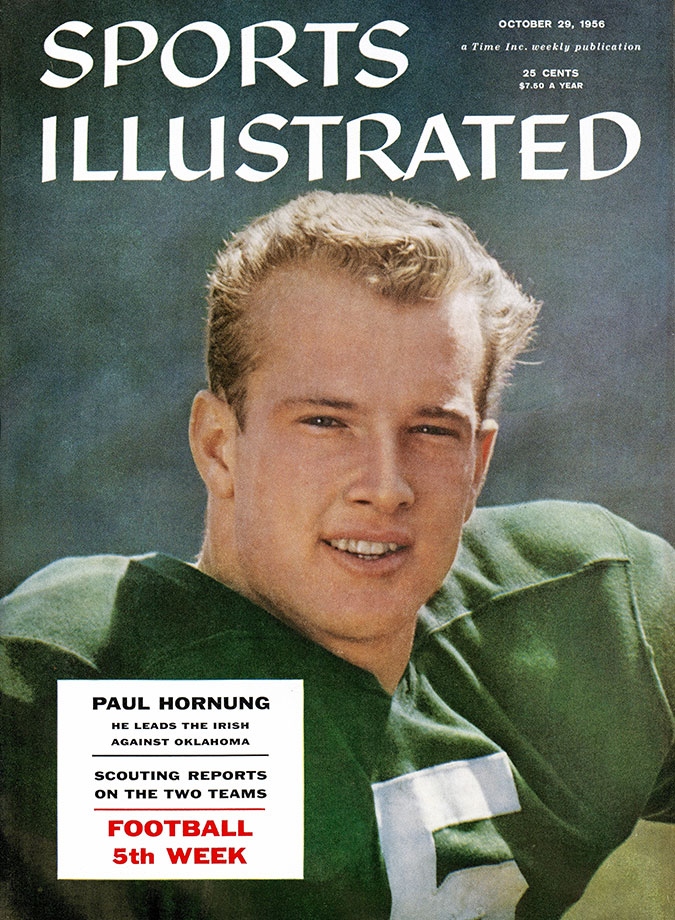 Oct. 20, 1956 SI cover