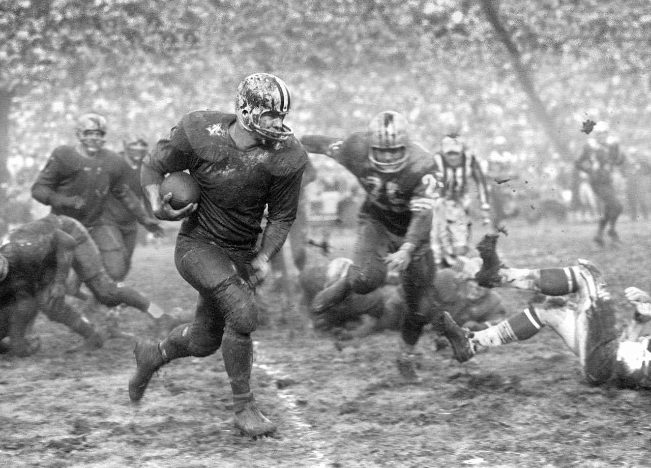 Jim Taylor could grind out yardage for Green Bay even when the tundra wasn't frozen.