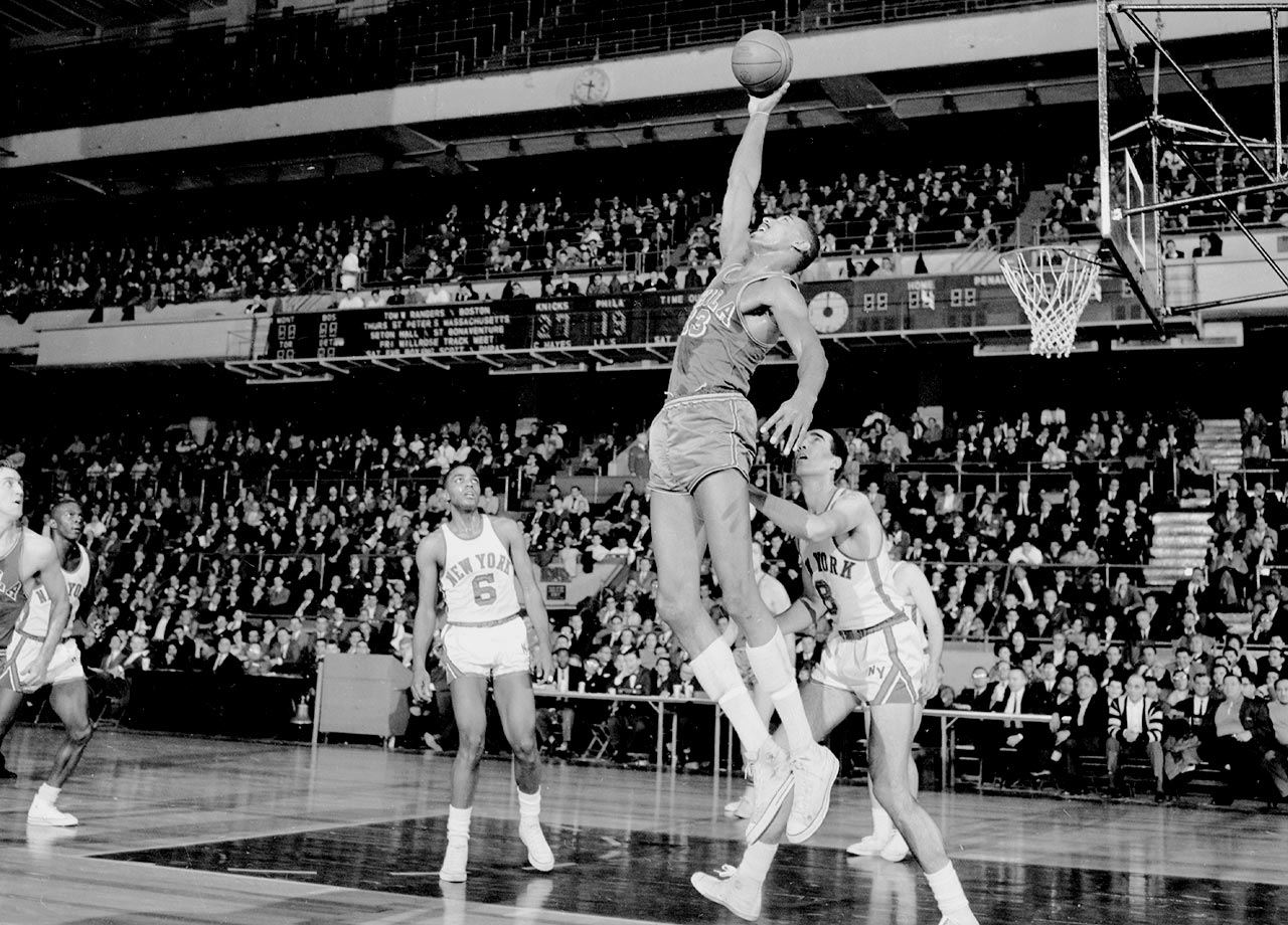 Wilt holds numerous NBA records so the distinction of the most rebounds on Christmas Day may only be a footnote in his NBA career. Nevertheless, Chamberlain's 59 points and 36 rebounds against the Knicks are otherworldly, regardless of the era.