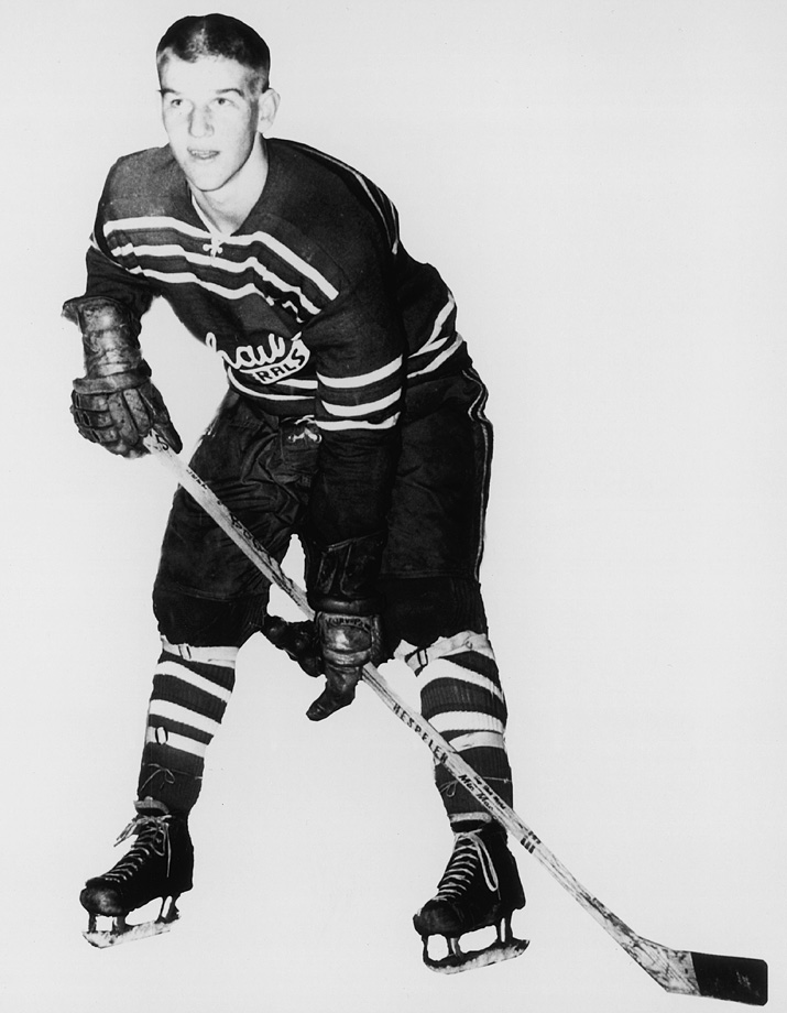 Blessed with impressive two-way skills, Bobby Orr was signed to an exclusive contract by the Boston Bruins at the tender age of 12 but league rules required that he wait until age 18 before he played in the league.