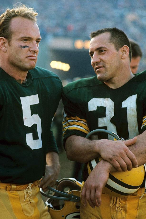 Jan. 15, 1967 (Super Bowl I) — Green Bay Packers vs. Kansas City Chiefs