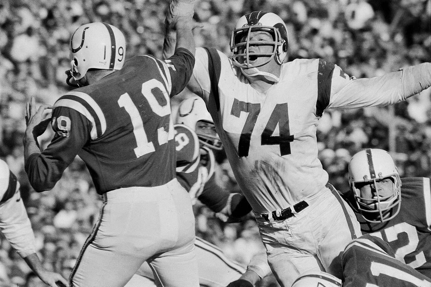 Dec. 17, 1967 — Los Angeles Rams vs. Baltimore Colts