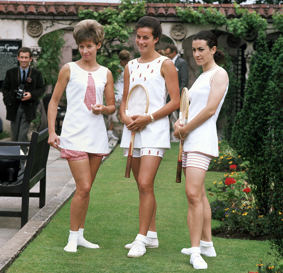 Virginia Wade, Lorna Greville-Collins and Marlys Burel (1967)