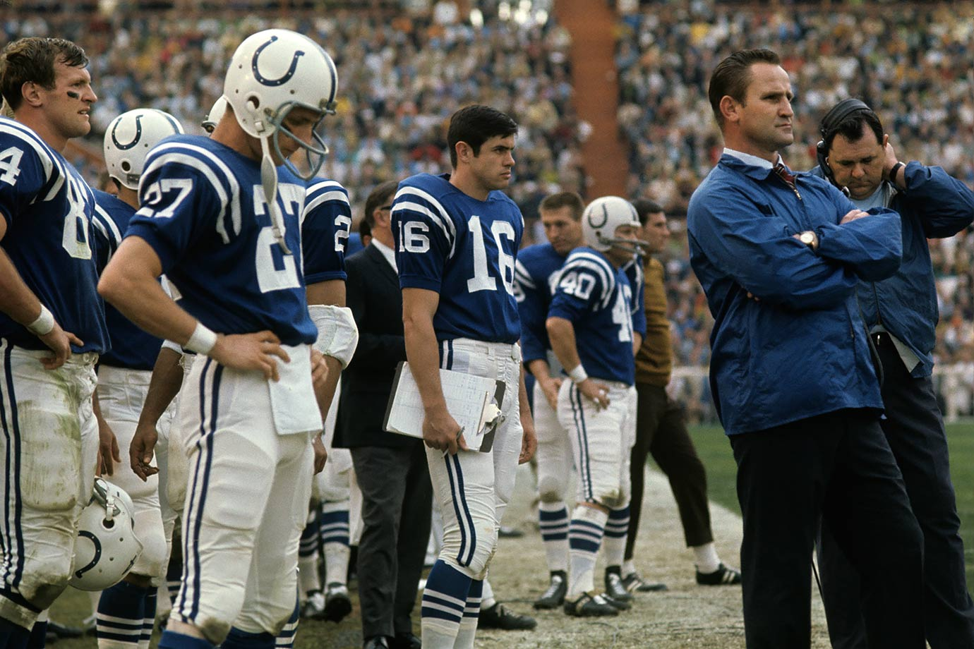 Jan. 12, 1969 — Super Bowl III: Baltimore Colts vs. New York Jets