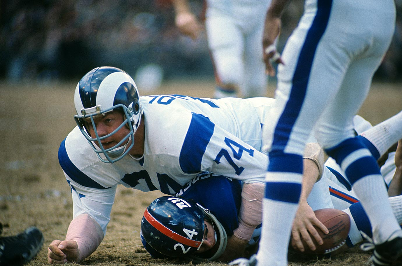 Dec. 20, 1970 — Los Angeles Rams vs. New York Giants