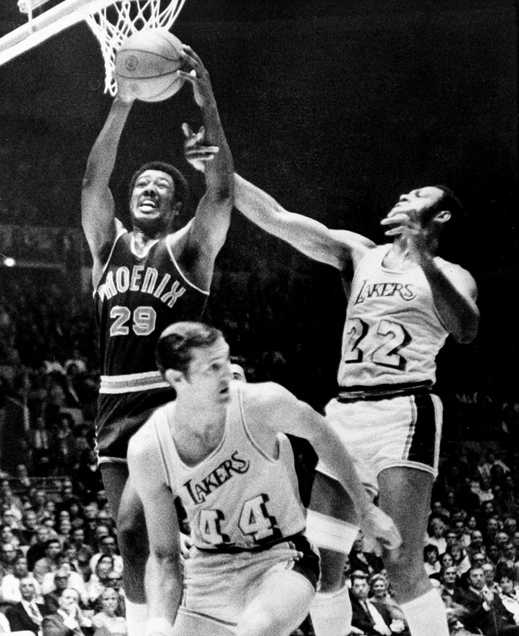 The Lakers rallied to win the final three games by double digits on the backs of Elgin Baylor, Jerry West and Wilt Chamberlain.