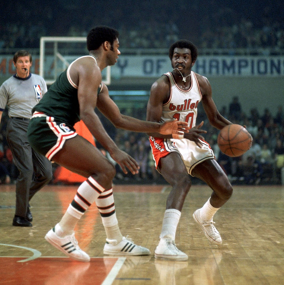 "Earl ""The Pearl"" Monroe and Oscar Robertson"