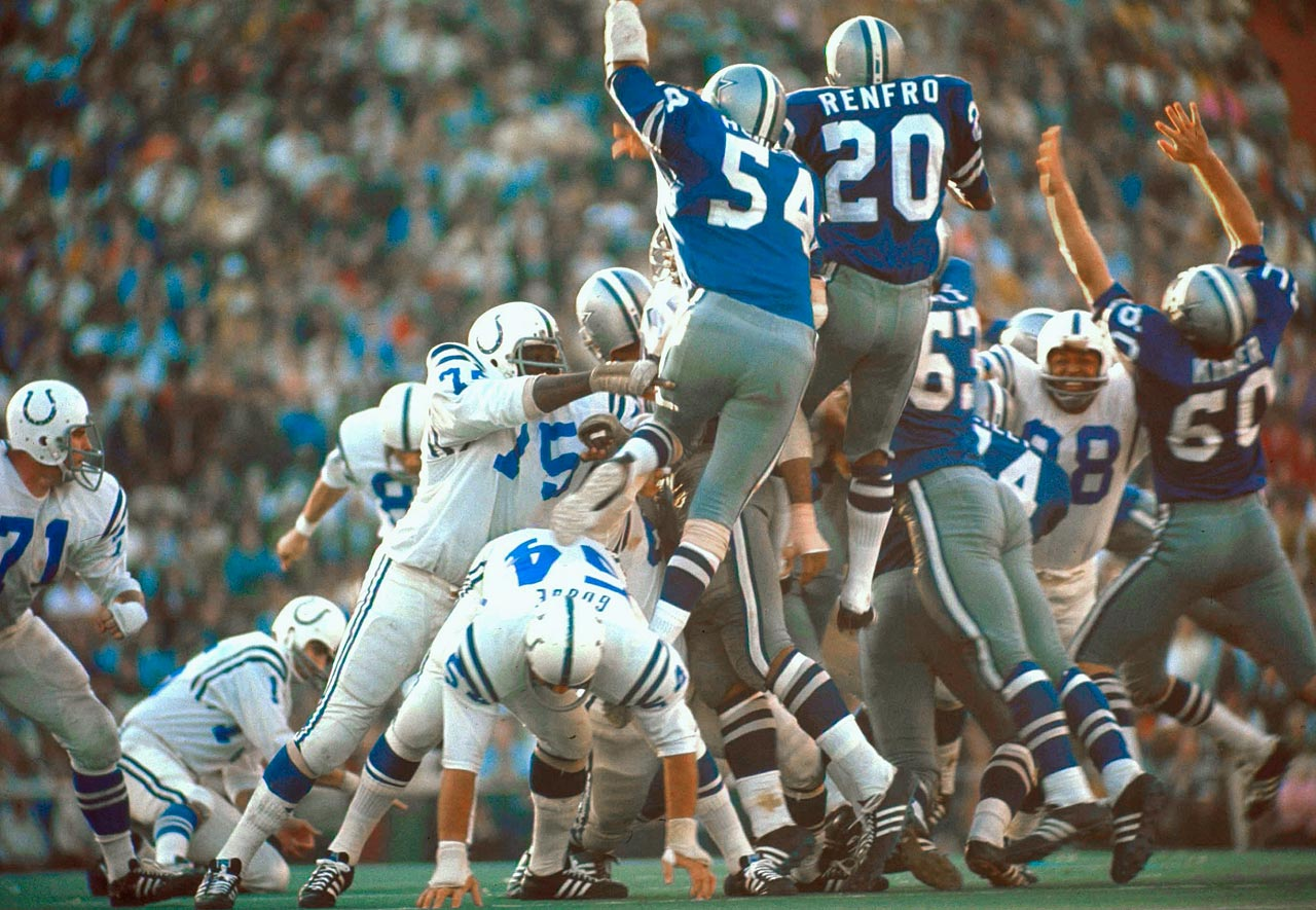 The Colts' margin of victory over the Cowboys in Super Bowl V was provided by Jim O'Brien on this field goal.