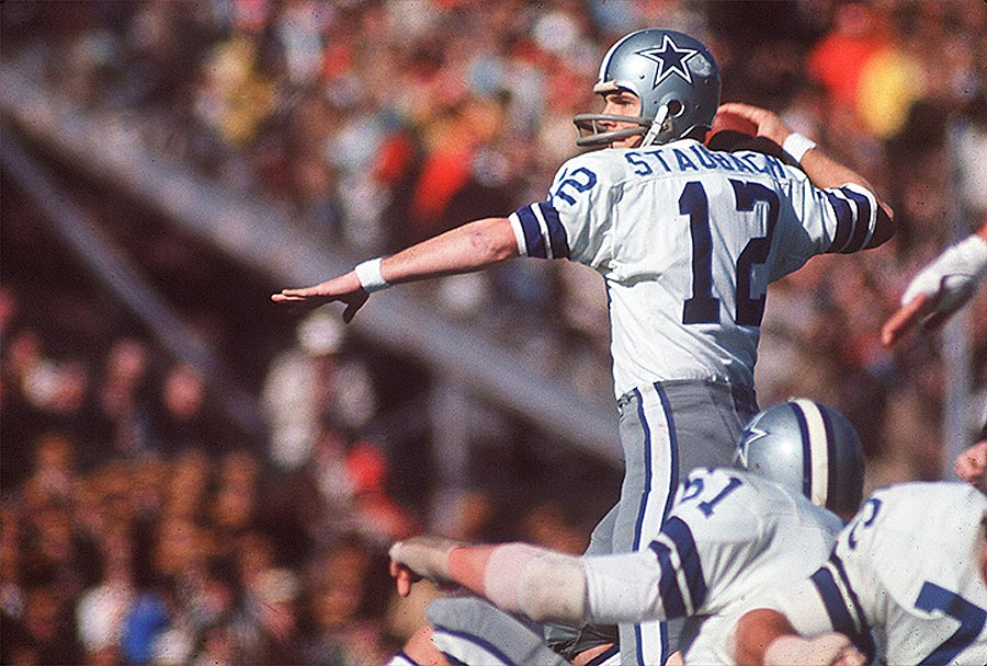 Roger Staubach was named MVP of Super Bowl VI after completing 12 of 19 passes for 119 yards and two touchdowns in the 24-3 win.