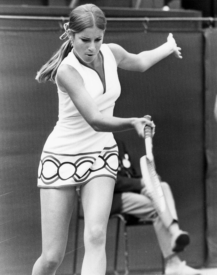 Chris Evert (1972)