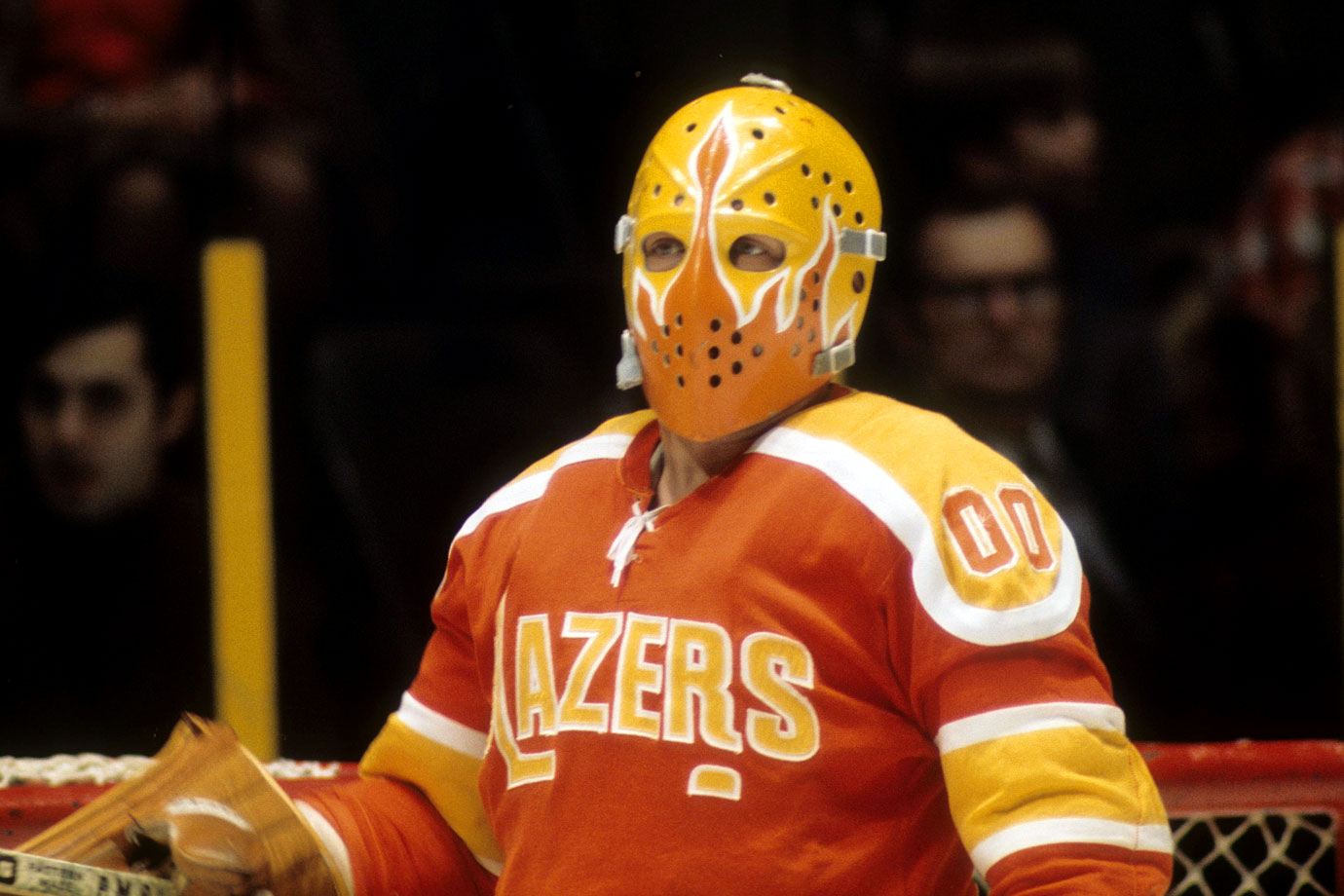 Bernie Parent was the first NHL player to jump to the new World Hockey Association in 1972, initially signing with the Miami Screaming Eagles, which did not materialize as planned and became the Philadelphia Blazers. Parent left the team over a contract dispute during the 1973 WHA playoffs.