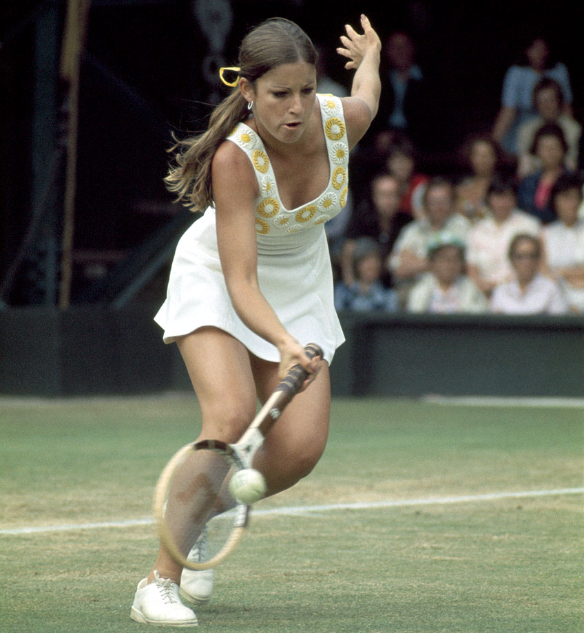 Chris Evert (1973)