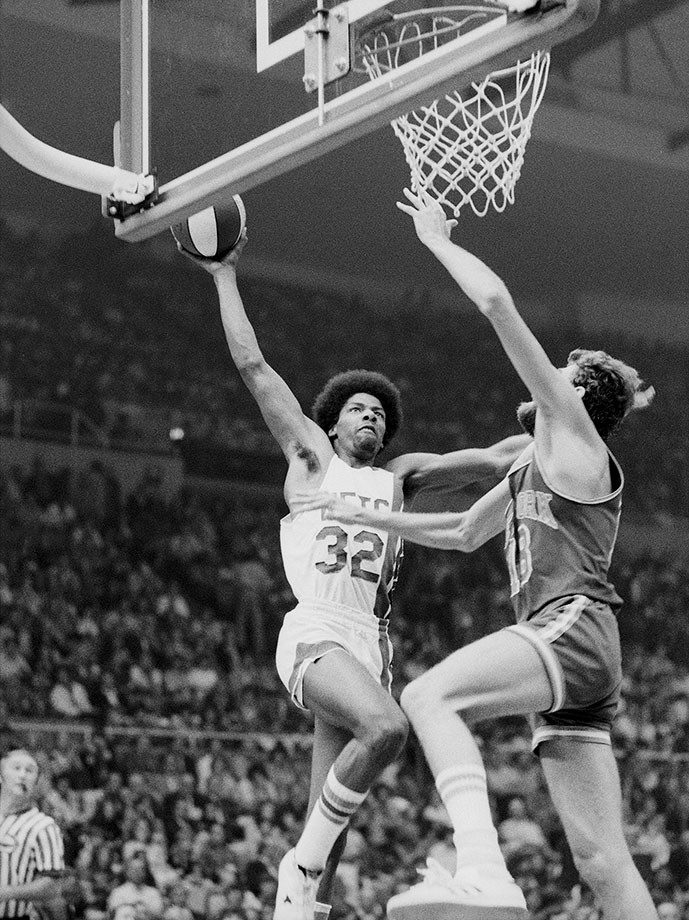 Dr. J got his nickname from a high school friend that he used to call the professor.