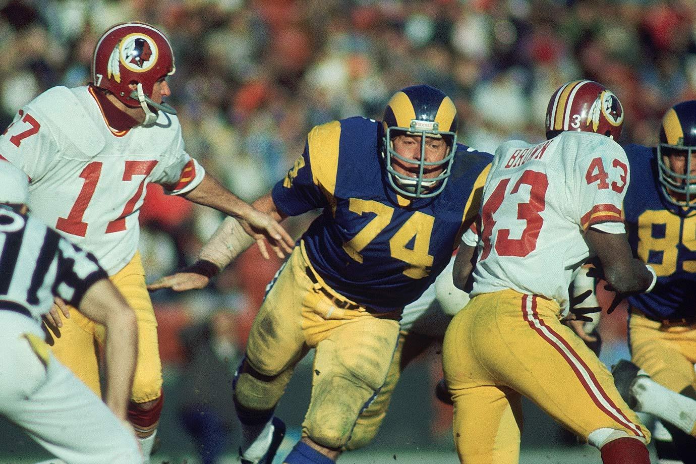 Dec. 22, 1974 — Los Angeles Rams vs. Washington Redskins