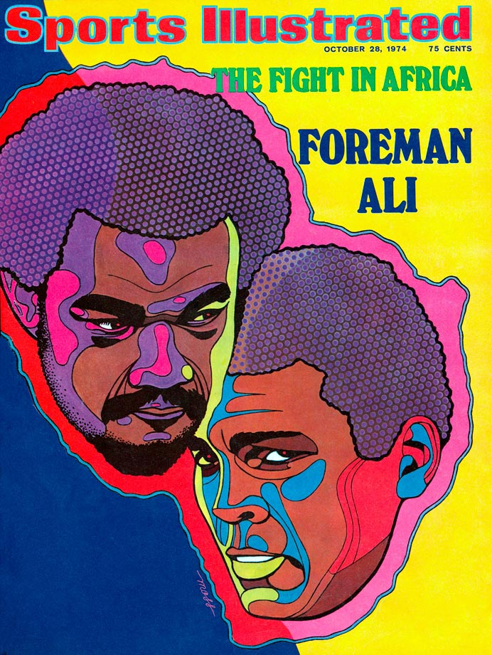 George Foreman and Muhammad Ali