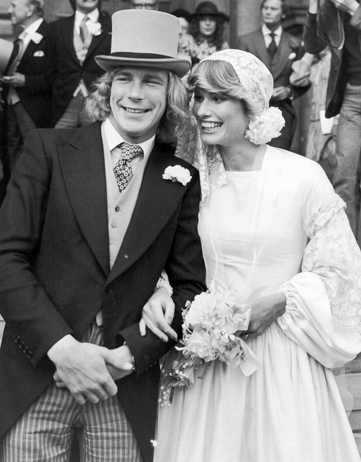 James Hunt and Suzy Miller