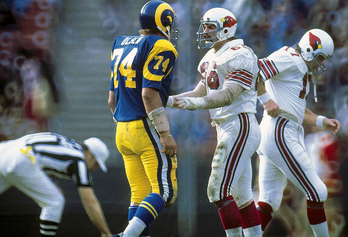 Dec. 27, 1975 — Los Angeles Rams vs. St. Louis Cardinals