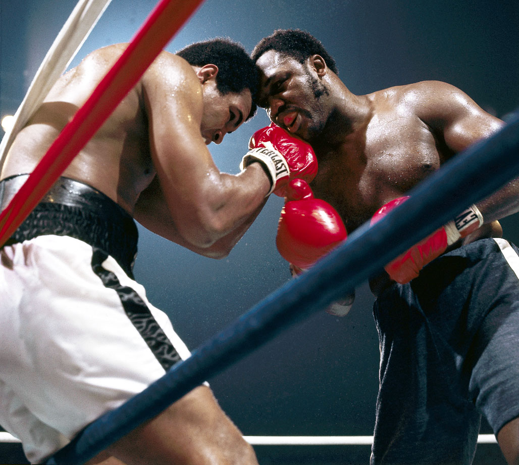 The third fight between Ali and Frazier, held on Oct. 1, 1975, in Quezon City in the Philippines, proved to be one of the most dramatic and brutal bouts in heavyweight history. Both men absorbed tremendous punishment in the relentless back-and-forth battle. Ali would later call it the ''closest thing to dying that I know of.''