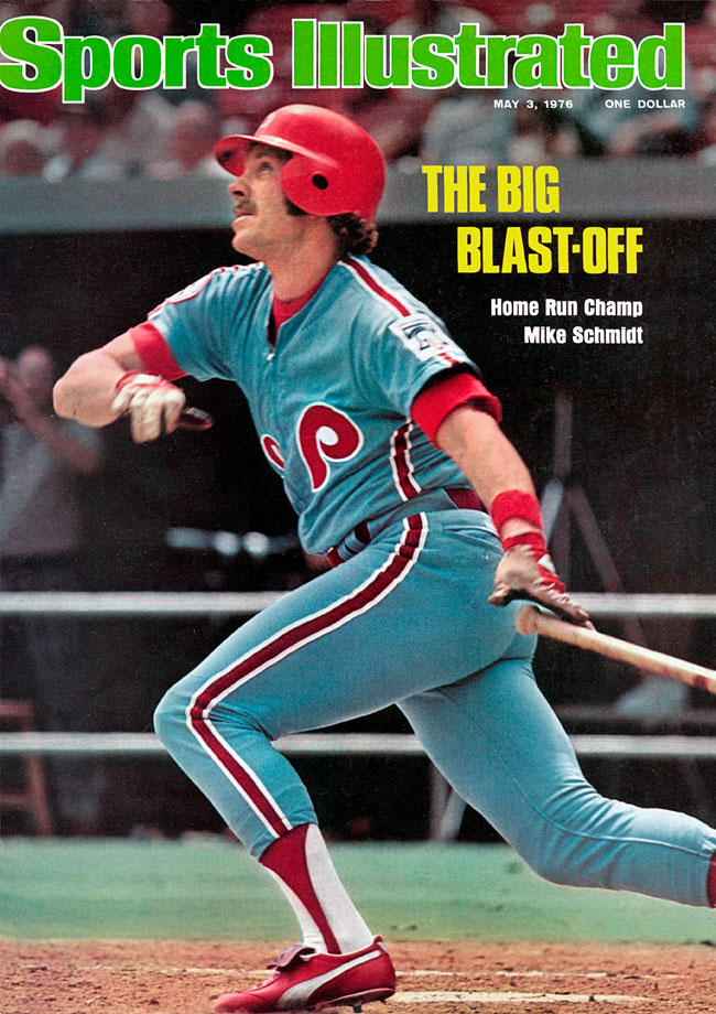 The Philadelphia Phillies needed all of Schmidt's four home runs. They rallied from an 11-run deficit to beat the Chicago Cubs 18-16 in 10 innings. Schmidt homered off brothers Rick and Paul Reuschel.