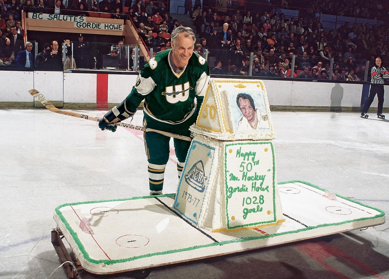 Gordie Howe Birthday Cake