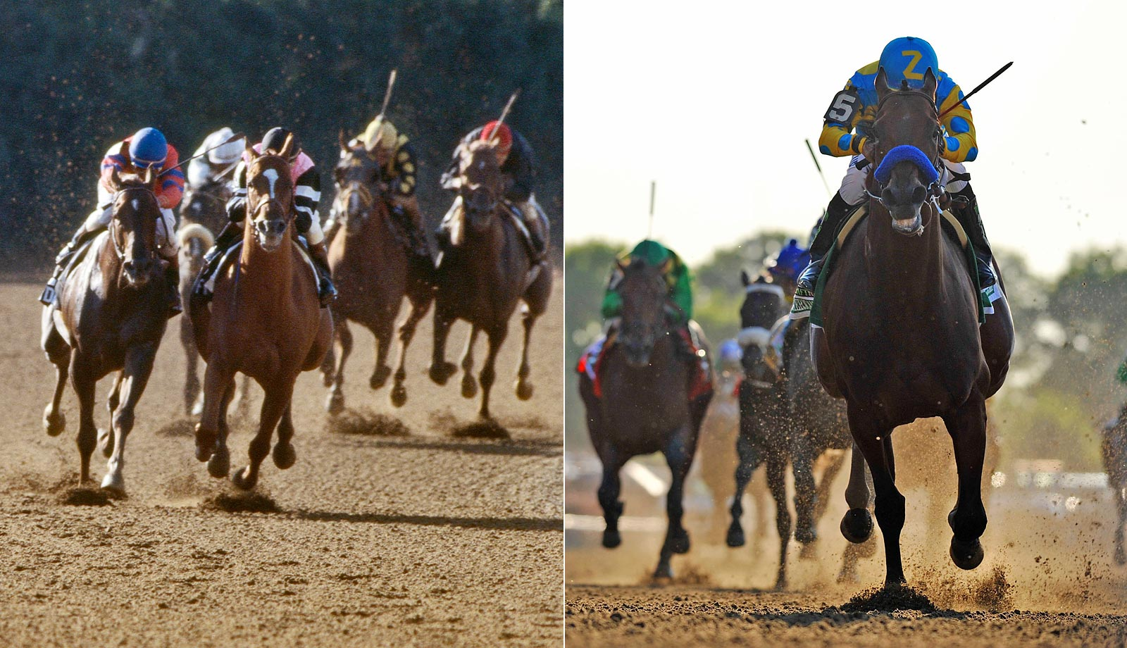 Sports Illustrated photographer Heinz Kluetmeier photographed the Triple Crown winners both in 1978 and 2015.  Here's a look, then and now.