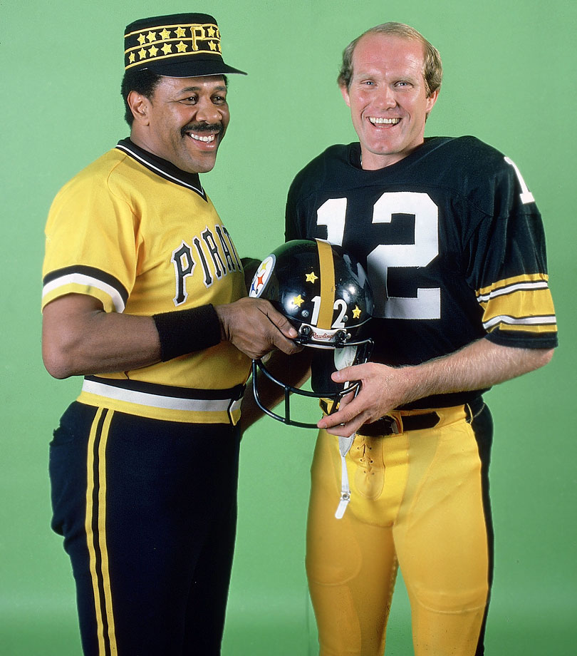 Pittsburgh legends Willie Stargell and Terry Bradshaw were named SI's Sportsmen of the Year in 1979.