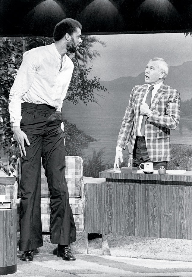"with Johnny Carson on ""The Tonight Show"""