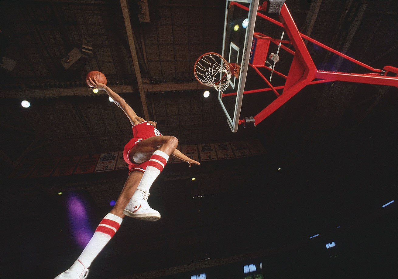 Dr. J will forever be considered one of the best dunkers in the history of pro basketball.