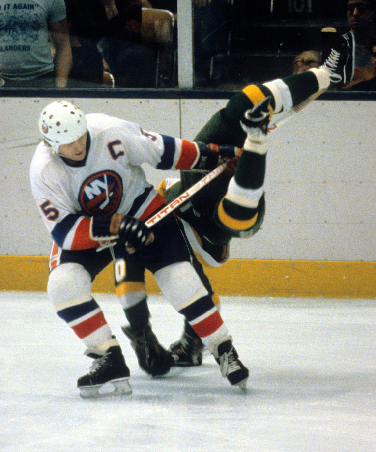 The Islanders' Hall of Fame defenseman was a pillar on the blueline as New York upended the Minnesota North Stars in five games for their second straight championship.