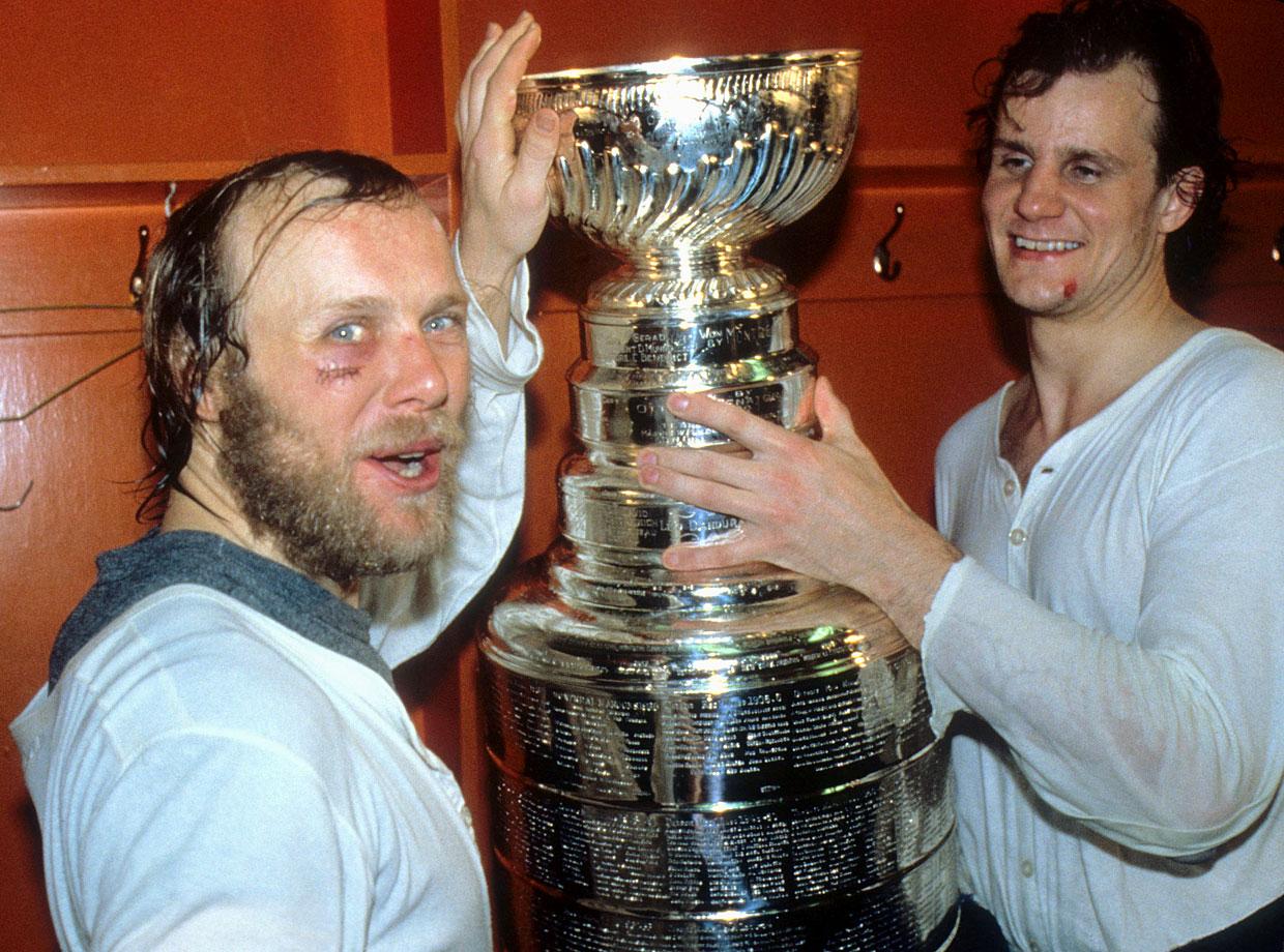 By the look of the welts on their mugs, the Islanders took their lumps en route to four consecutive Stanley Cups, even during relative cakewalks like their 1982 sweep of the Vancouver Canucks.