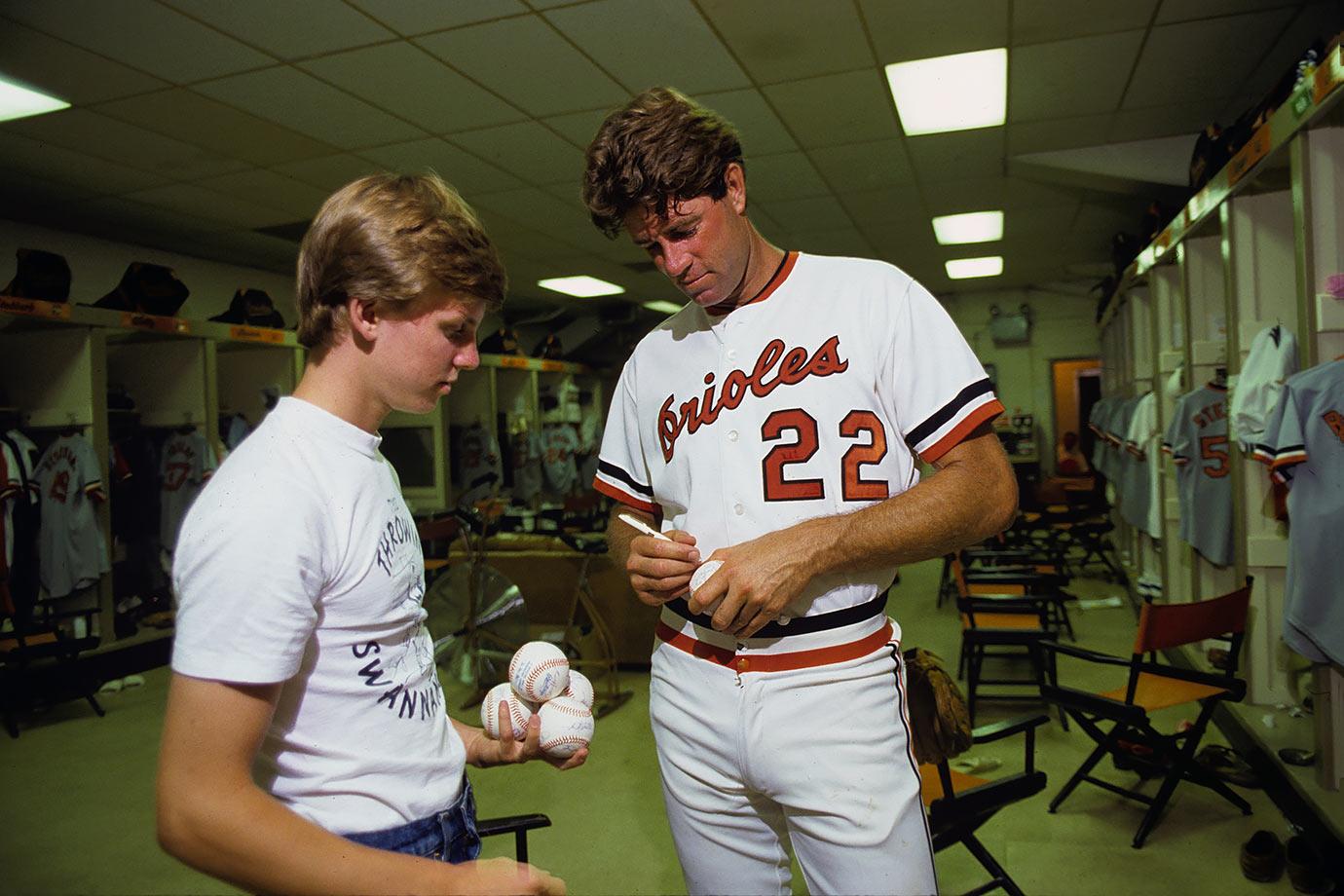 July 31, 1983 — Baltimore Orioles vs. Texas Rangers