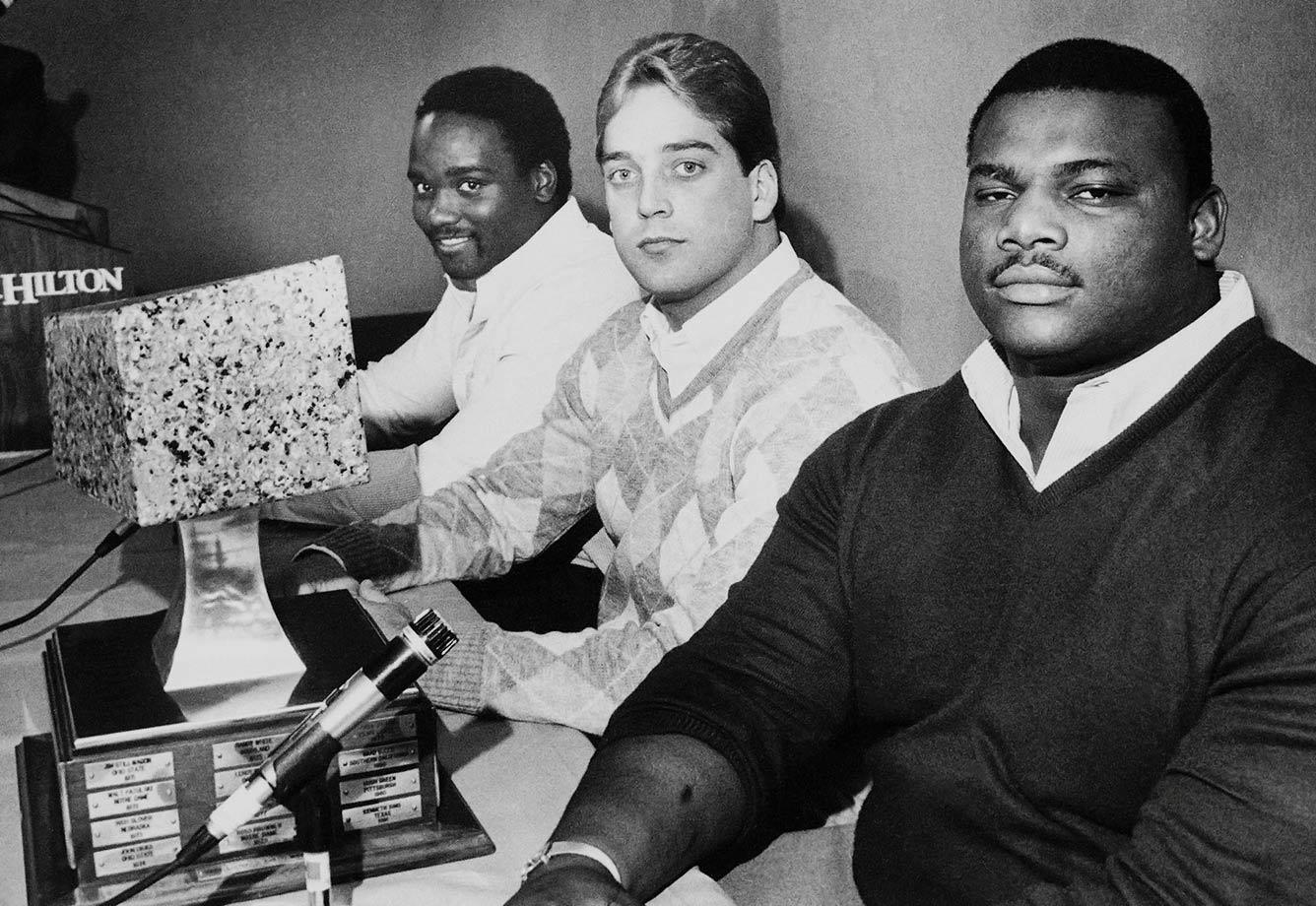 Dec. 12, 1984 — Lombardi Award finalists