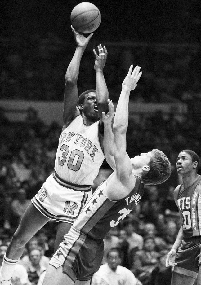 Standing 6-foot-7, Bernard King always played larger than life. No game was a better example of this than Christmas Day. King scored a Christmas Day-record 61 points, but his Knicks fell to the Nets 120-114.