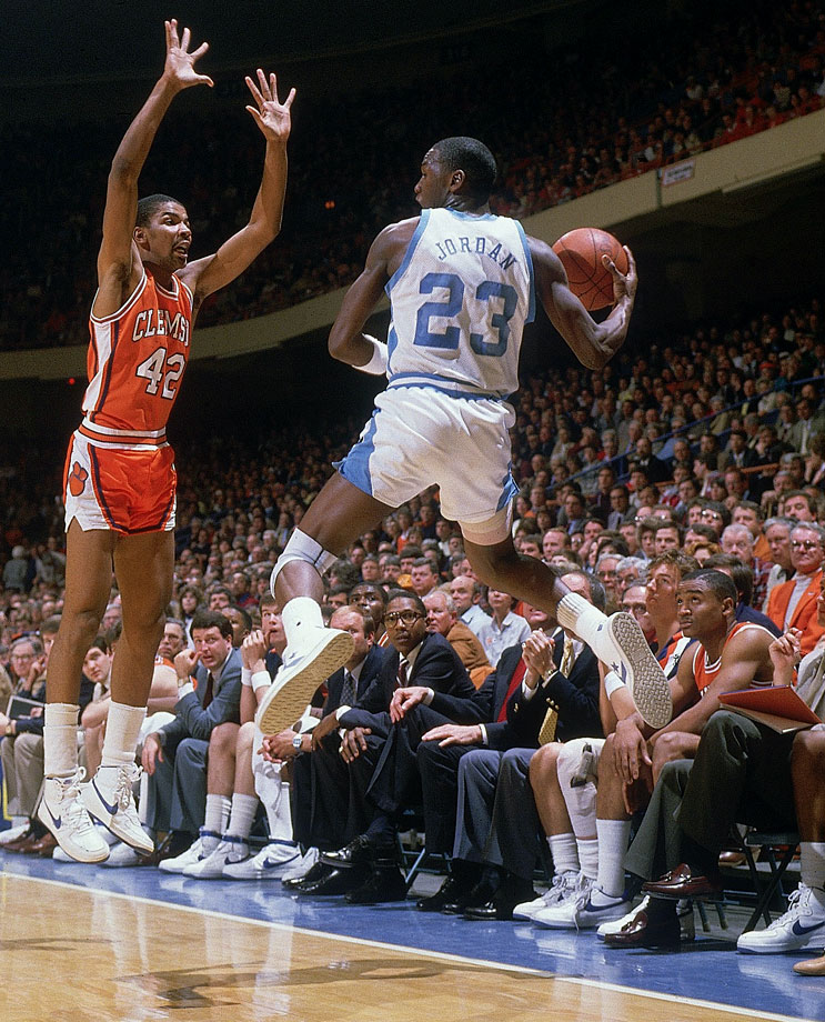 March 9, 1984 — ACC Tournament: North Carolina vs. Clemson