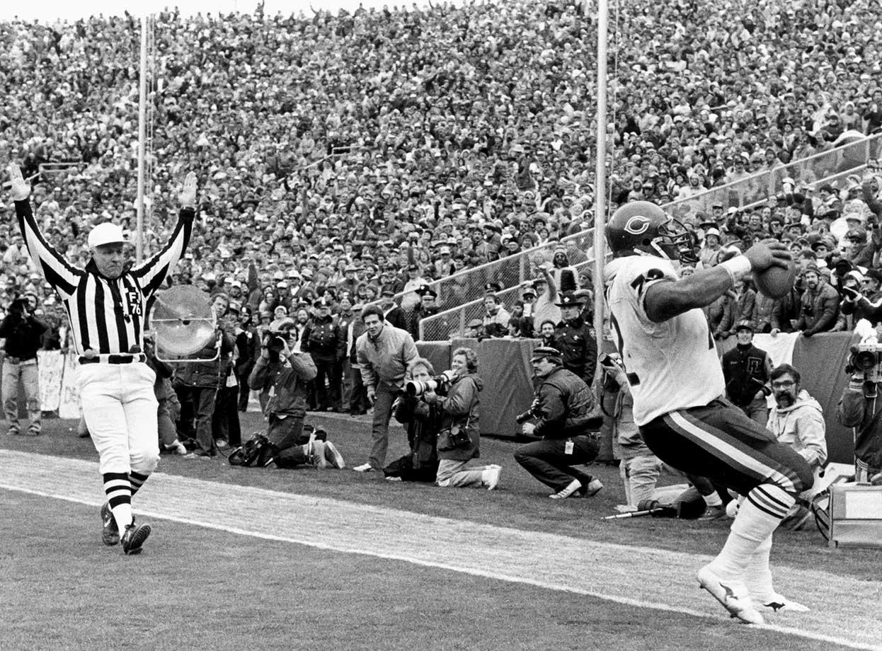 Nov. 3, 1985 — Chicago Bears vs. Green Bay Packers
