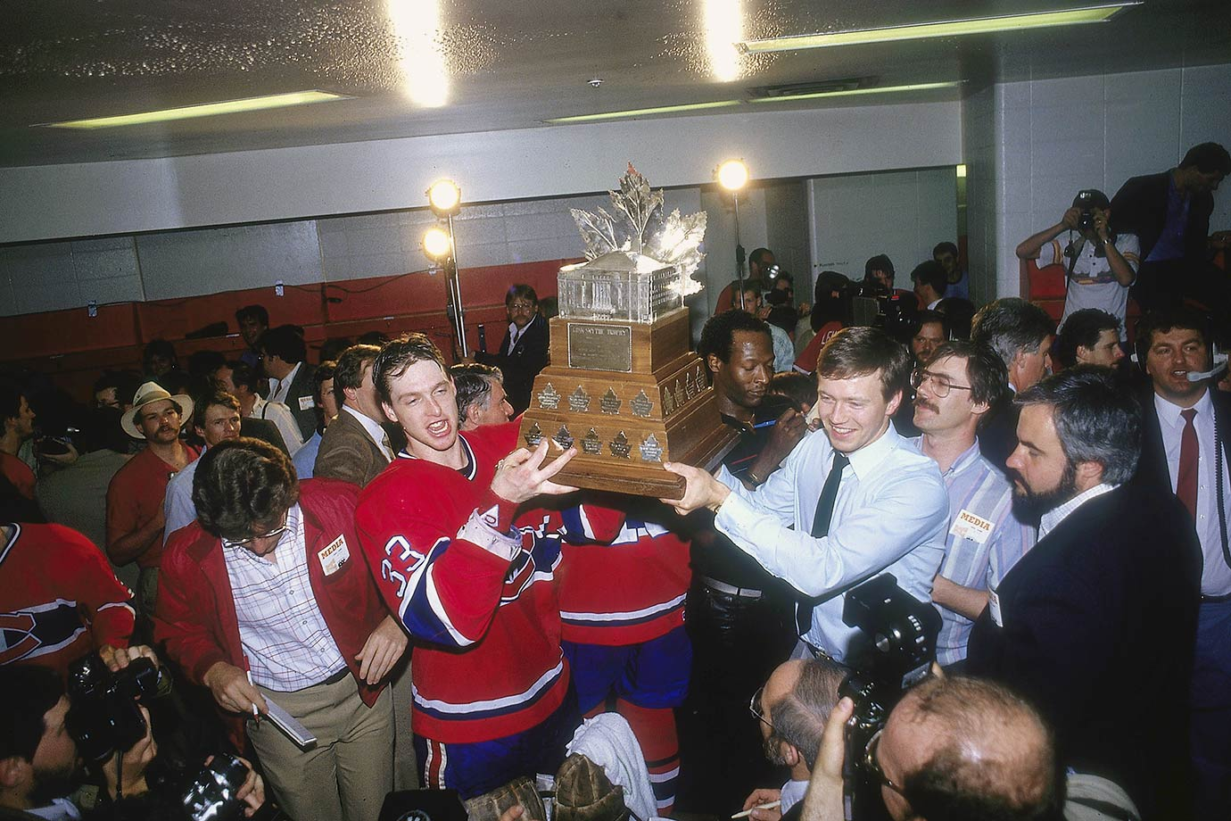 May 24, 1986 — Stanley Cup Final, Game 5 (Canadiens vs. Flames)