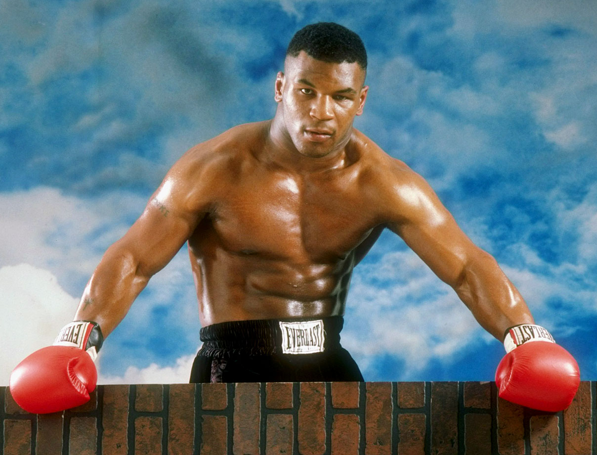 In his heyday, Mike Tyson was an intimidating boxer.