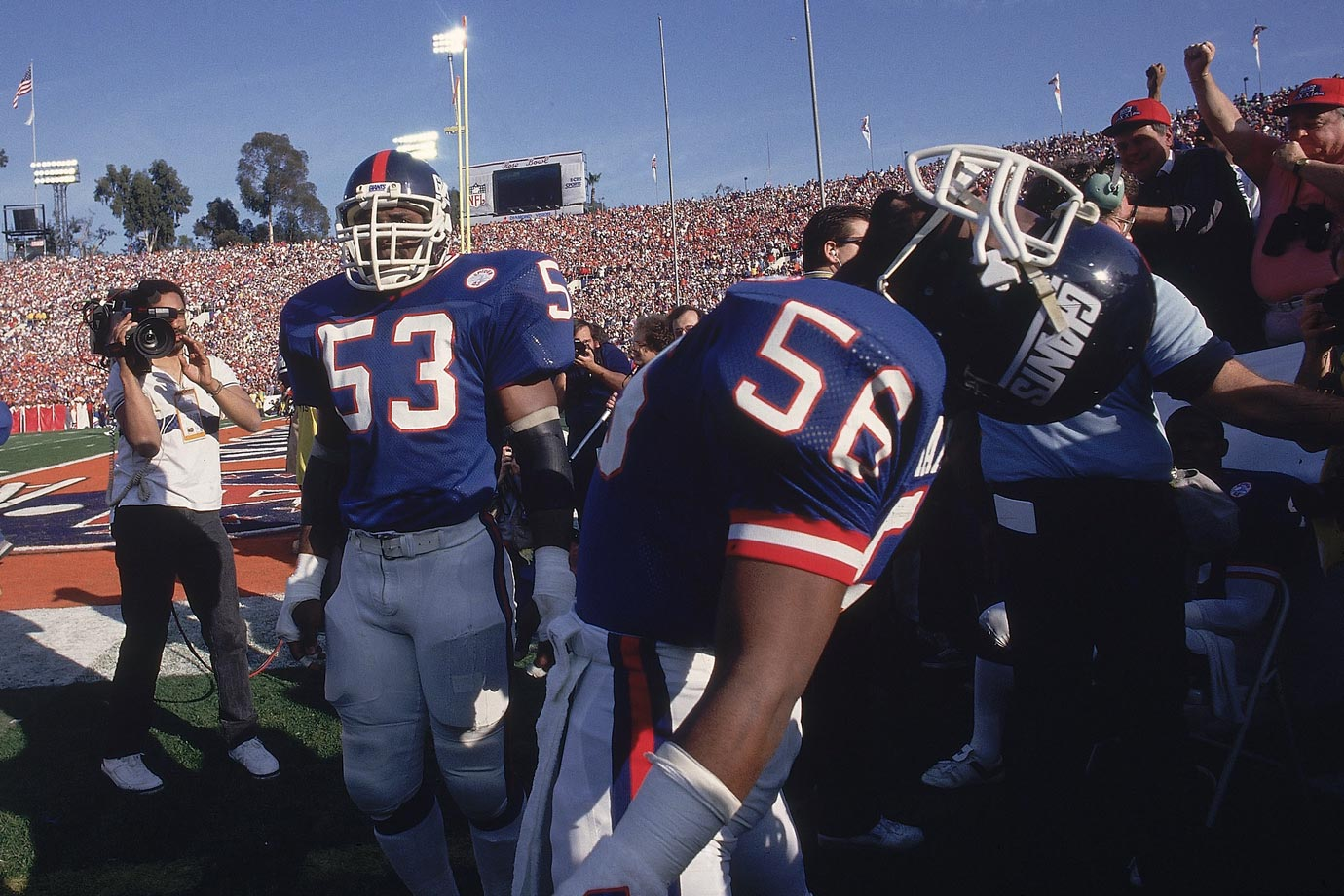 Jan. 25, 1987 (Super Bowl XXI)