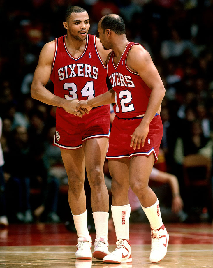 Charles Barkley briefly teamed up with World B. Free, bringing together two of the NBA's most outspoken personalities.