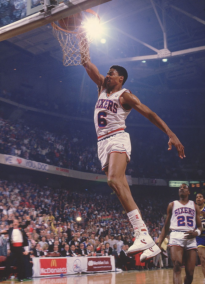 Dr. J finished his final season averaging 16.7 points per game. When he retired, he ranked third all time in scoring.