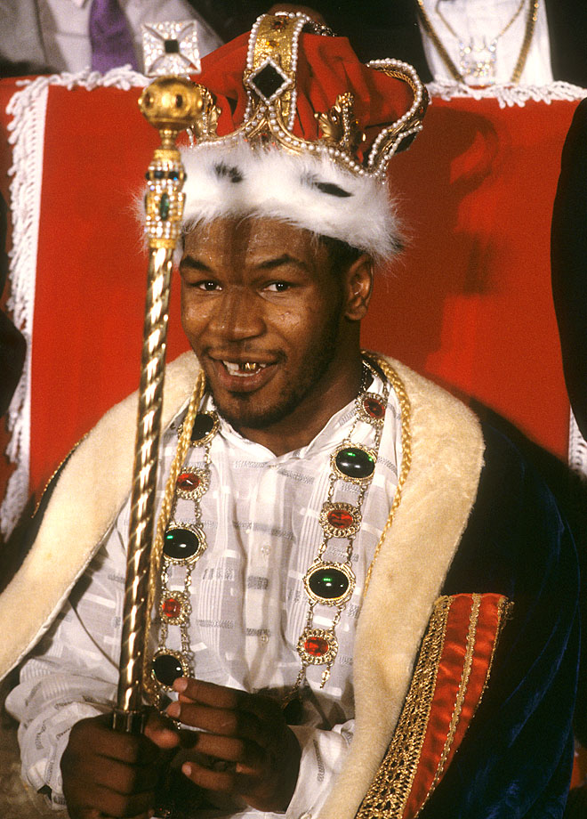 Before a match against Tony Tucker in Las Vegas, Mike Tyson was king for a day.