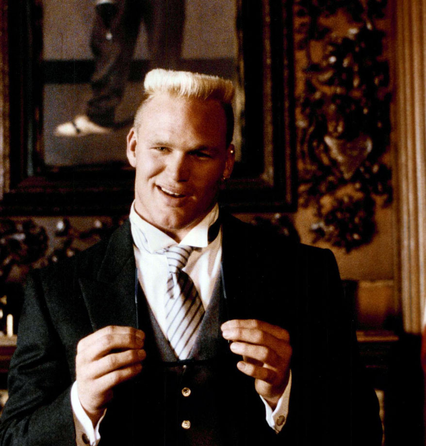 The Boz appeared in a Right Guard commerical, during which Bosworth's Book of Etiquette contains the deodorant stick.