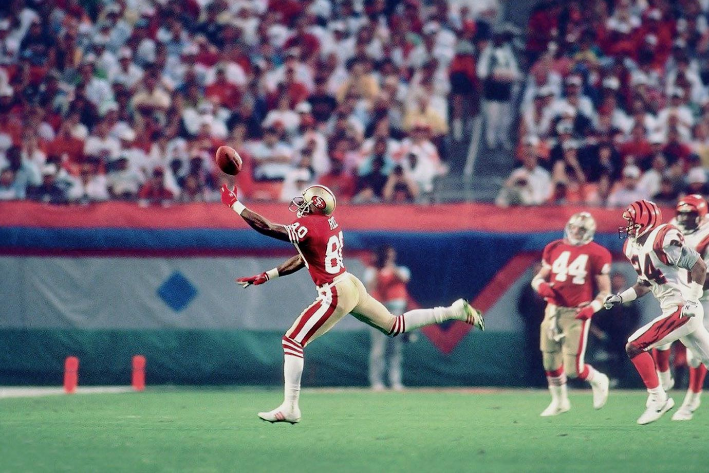 Jan. 22, 1989 — Super Bowl XXIII (San Francisco 49ers vs. Cincinnati Bengals)